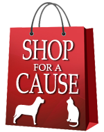 Shop for a Cause - Help Keep Pets Out of Shelters and with Their Families!